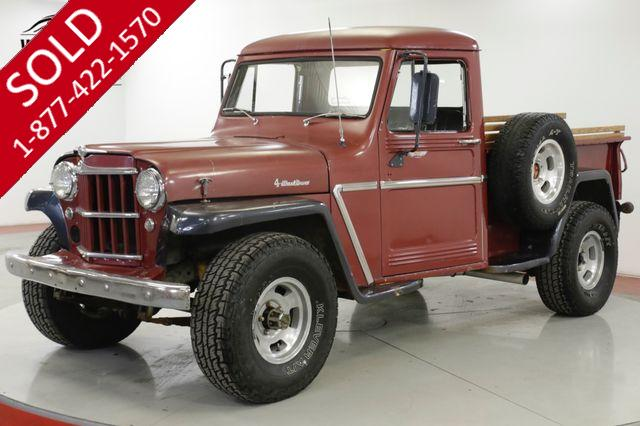 1963 JEEP  WILLYS  RARE 4x4 V8 CHROME COLLECTOR MUST SEE