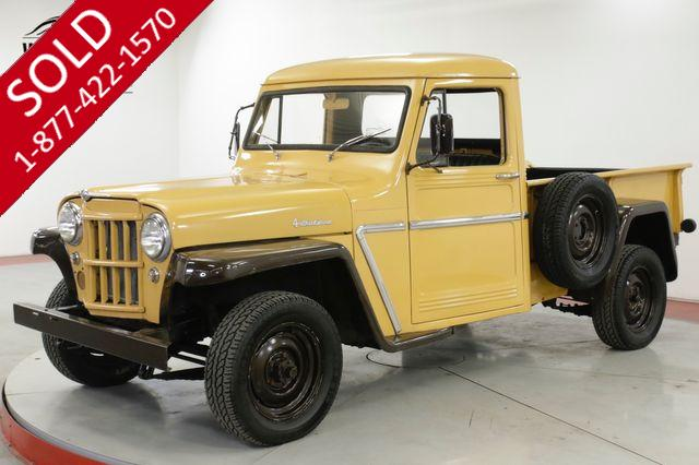 1963 JEEP WILLYS LOW MILES. 4X4. SHORTBOX. COLLECTOR GRADE