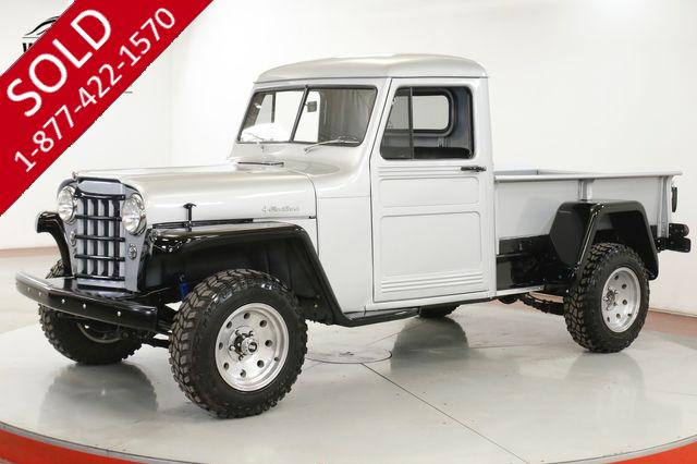 1951 JEEP WILLYS OVERLAND PICKUP FRAME OFF RESTORATION 200 MI