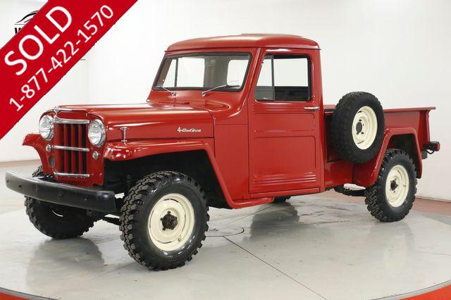 1960 JEEP WILLYS RESTORED REBUILT HURRICANE 6 CYLINDER 4x4