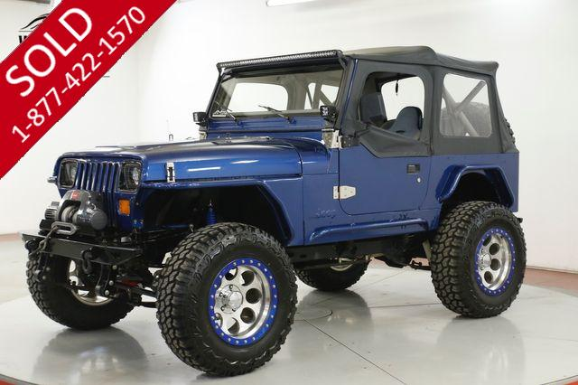 1987 JEEP WRANGLER RESTORED FUEL INJECTED VORTEC LS LIFT DISC