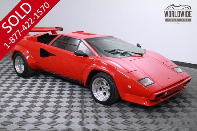 1984 Lamborghini Countach 400HP V8 for Sale