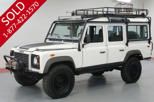 1993 LAND ROVER DEFENDER 110 RARE! NAS 110! LOW MILES! HIGHLY OPTIONED.