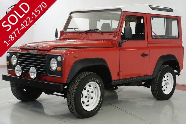 1989 LAND ROVER DEFENDER SANTANA DIESEL 5 SPEED LHD DRY LOW MILES