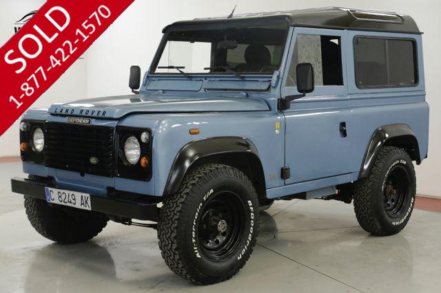 1988 LAND ROVER DEFENDER  SANTANA DIESEL 300 TDI TURBO 5 SPEED LHD DRY