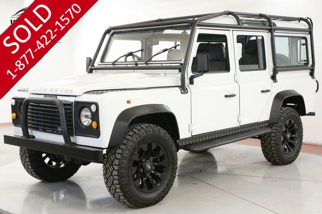 1994 LAND ROVER DEFENDER 300TDI TURBO DIESEL 5 SPEED EXT ROLL CAGE