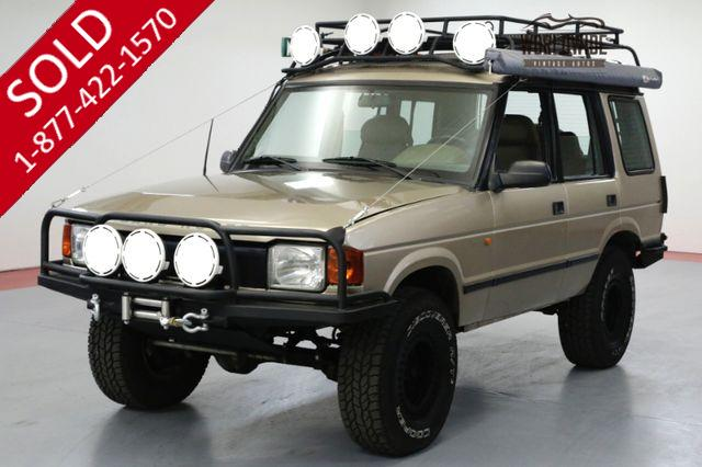 1995 LAND ROVER DISCOVERY OVERLAND D1. LOW MILES. THOUSANDS IN EXTRAS!