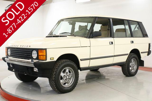 1994 LAND ROVER RANGE ROVER CLEAN. CARFAX. LOW MILES. WELL MAINTAINED