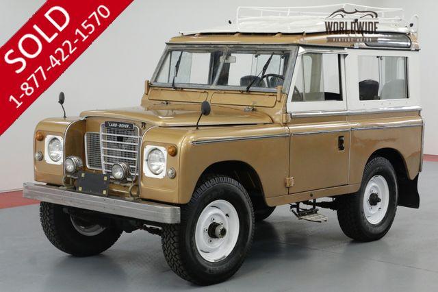 1977 Land Rover SERIES III 300 TDI TURBO. DIESEL! OVERDRIVE! 4X4!