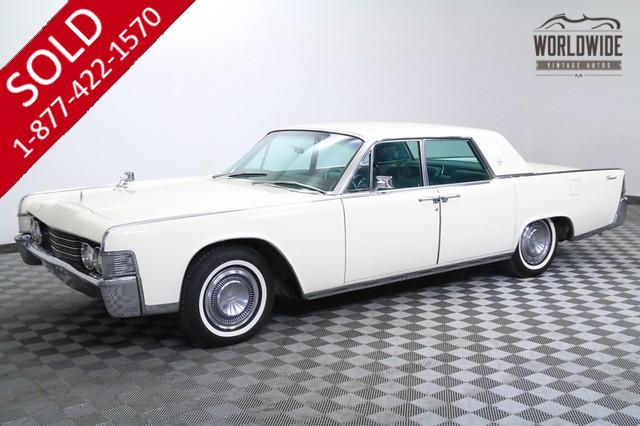 1965 Lincoln Continental for Sale