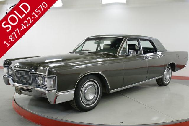 1969 LINCOLN  CONTINENTAL  SUICIDE DOORS V8 POWER EVERYTHING MUST SEE
