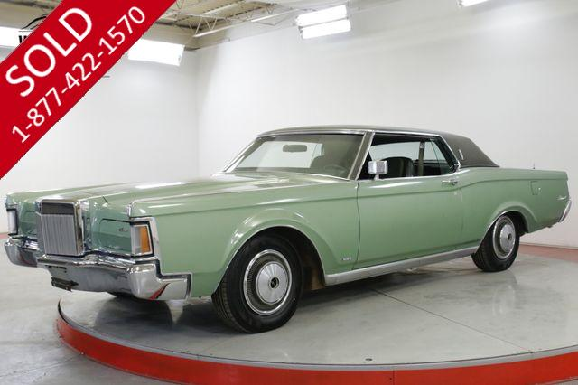 1971 LINCOLN  CONTINENTAL  MARKIII COUPE FACTORY AIR LEATHER PS PB PW