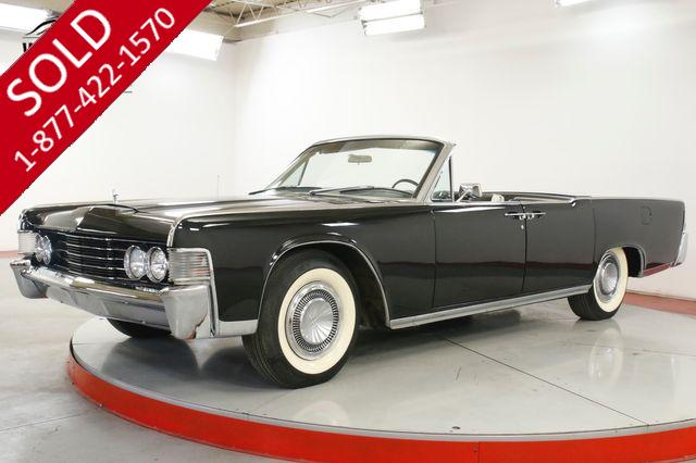 1965 LINCOLN  CONTINENTAL  RESTORED COLLECTOR SUICIDE DOORS 23K MILES