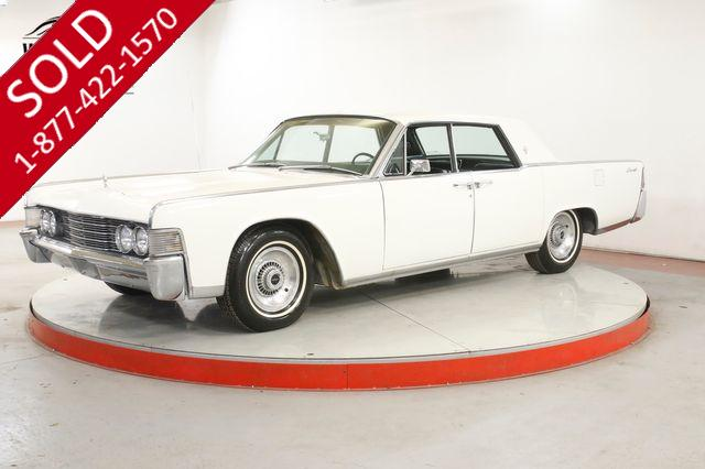 1965 LINCOLN CONTINENTAL  SUICIDE DOORS TIME CAPSULE PS PB COLLECTOR
