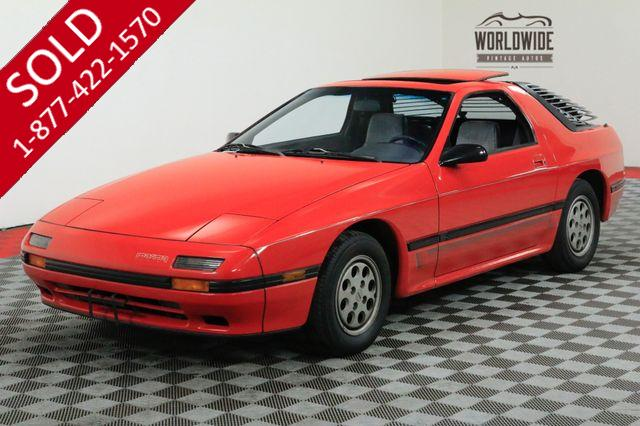 1986 MAZDA RX-7 GXL PACKAGE 74K ORIGINAL MILES COLLECTOR