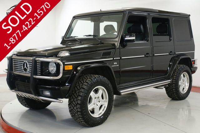 2005 MERCEDES-BENZ AMG G55 SUPERCHARGED LIFTED. 4X4. EXTRAS SERVICED