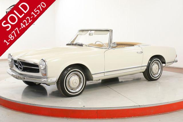 1966 MERCEDES-BENZ 230SL RARE CLEAN DRIVER BOTH TOPS