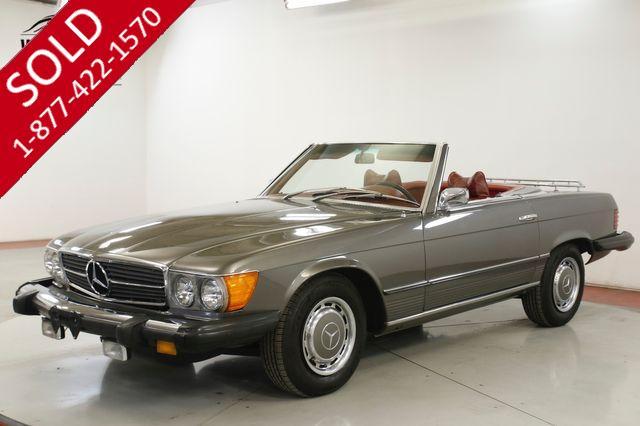 1974 MERCEDES-BENZ 450SL 18K MILES HARDTOP/CONVERTIBLE