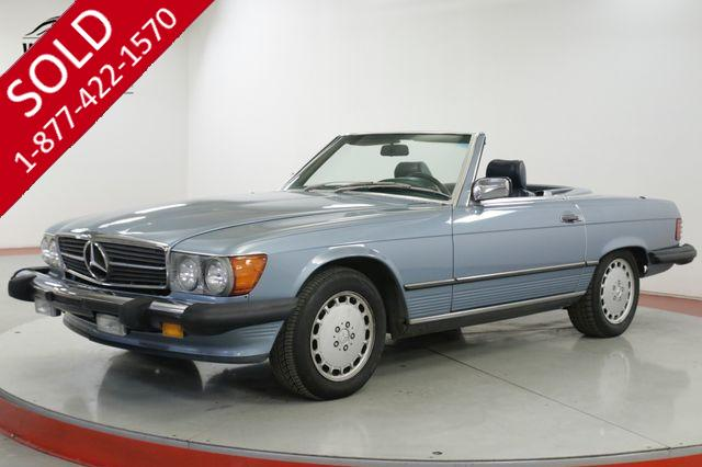 1988 MERCEDES-BENZ 560 SL CONVERTIBLE ALL ORIGINAL V8