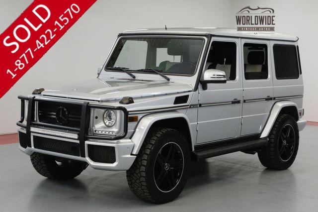 2014 Mercedes-Benz G 63 ONE OF A KIND. G63 AMG. DESIGNO LOW MILES