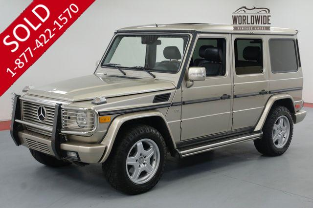 2003 Mercedes-Benz G500 PRESTINE ORIGINAL! LOW MILES! NEW TIRES!