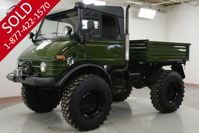 1979 MERCEDES-BENZ UNIMOG 406 DIESEL PORTAL AXLES WINCH UNSTOPPABLE