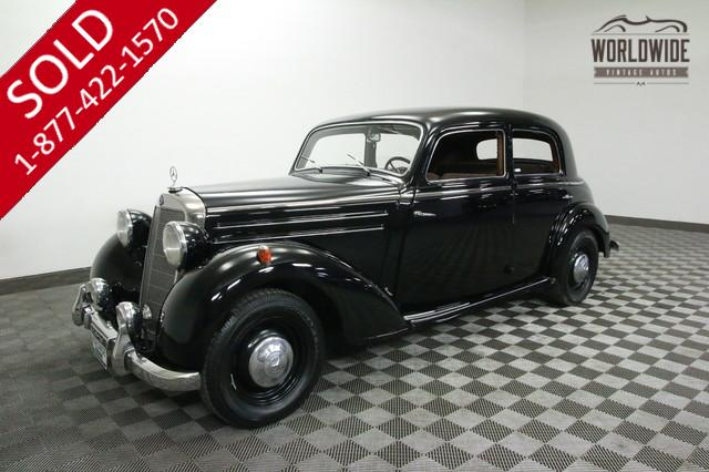 1952 Mercedes for Sale