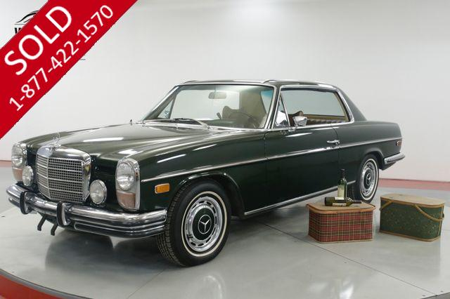1971 MERCEDES 250C COUPE 1 OWNER CA CAR 44K ORIGINAL MILES AC