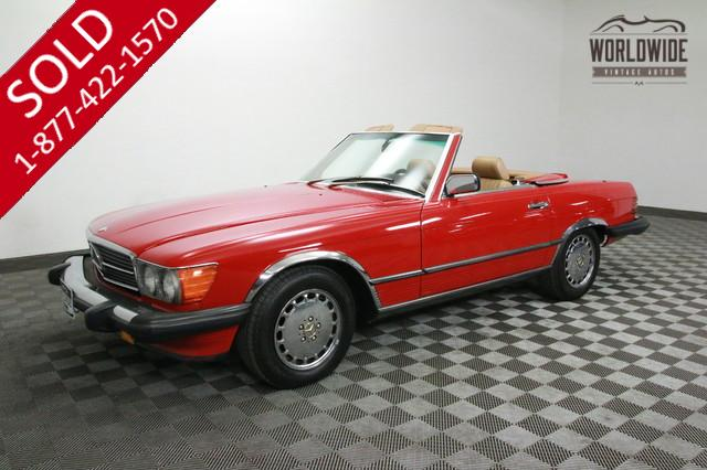 1988 Mercedes 560SL for Sale