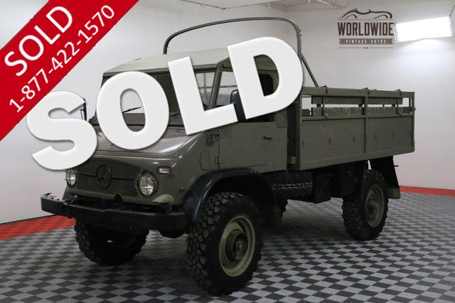 1962 MERCEDES UNIMOG 404 6-SPEED 4X4 DUAL LOCKING DIFFERENTIALS