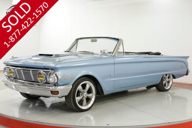 1963 MERCURY COMET  CONVERTIBLE CUSTOM RESTOMOD 351 V8 5SPD