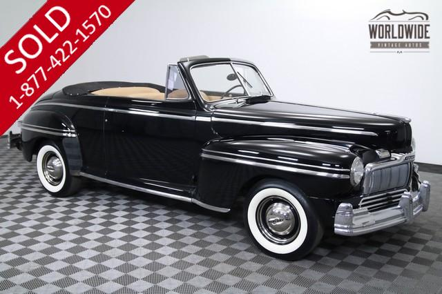 1948 Mercury Eight Convertible for Sale
