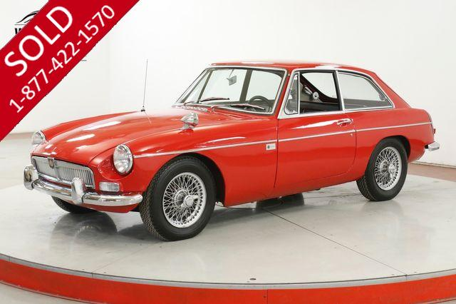 1967 MG MGB RARE RACING PACKAGE COLLECTOR GRADE