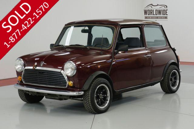 1975 MINI COOPER MAYFAIR EDITION! MANUAL GEARBOX SU CARBS.