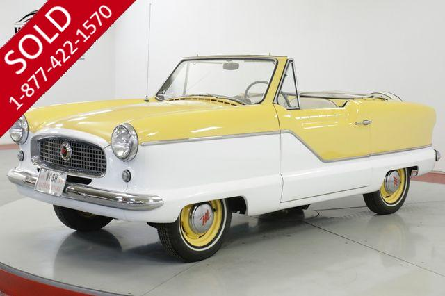 1959 NASH METROPOLITAN SUMMER FUN! 4 CYLINDER MANUAL