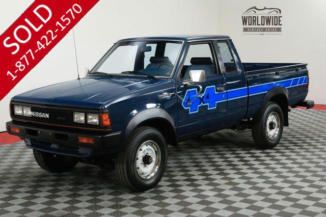 1983 NISSAN 720 KING CAB 4X4 COLLECTOR GRADE ORIGINAL TIME CAPSULE