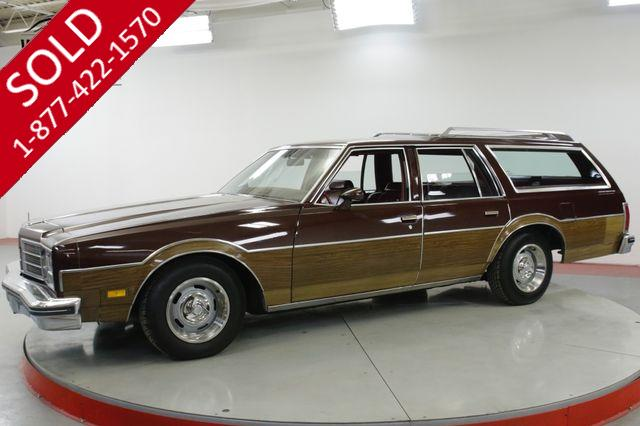 1978 OLDSMOBILE  CUSTOM CRUISER  STATION WAGON WOODY 9 PASS 85K MI 1 OWNER
