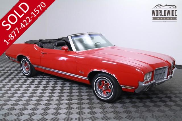 1971 Oldsmobile Cutlass Convertible V8 for Sale