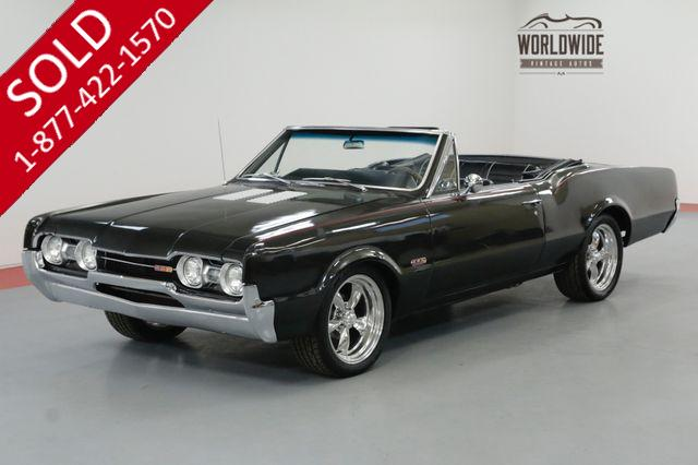 1967 OLDSMOBILE CUTLASS 442 TRIBUTE CONVERTIBLE FRAME OFF RESTORED