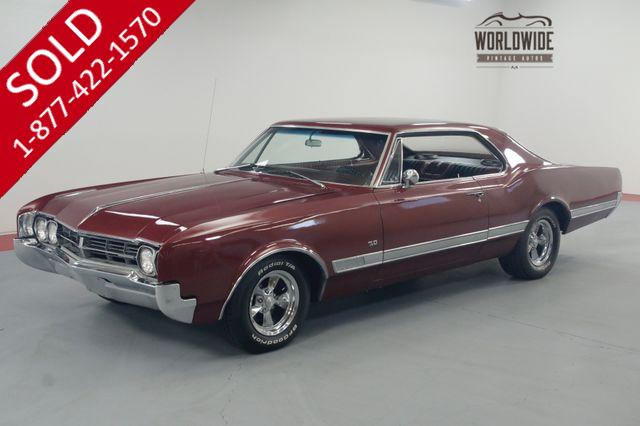 1966 OLDSMOBILE STARFIRE RESTORED. 455 ROCKET V8! AUTOMATIC. RARE!