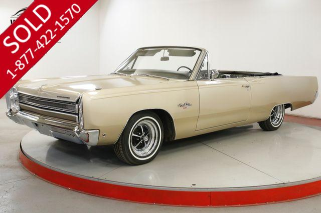 1968 PLYMOUTH SPORT FURY 383 PS PB POWER TOP CONVERTIBLE MUSCLE CAR