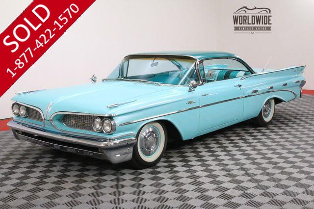 1959 PONTIAC BONNEVILLE 389 TRI-POWER SUPER HYDROMATIC