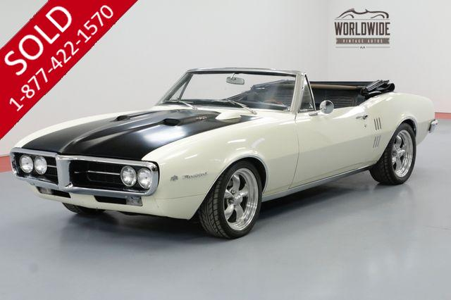 1967 PONTIAC FIREBIRD 400CID V8 4-SPEED PS DISC BRAKES CONVERTIBLE