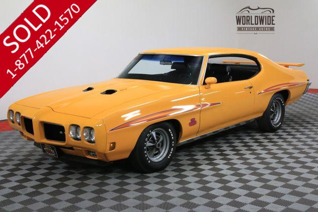 1970 PONTIAC GTO JUDGE ORBIT ORANGE 4 SPEED