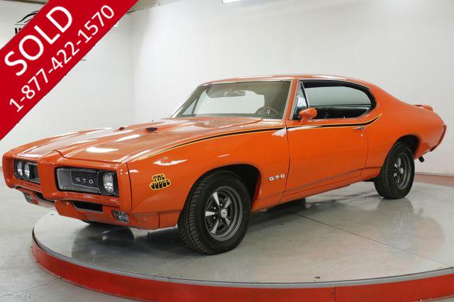 1968 PONTIAC  GTO JUDGE CLONE 350 V8 AUTO PS PB A/C DISC
