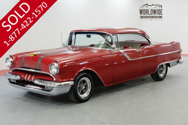 1955 PONTIAC STAR CHIEF FRAME OFF RESTORED 350V8 700R4 AUTOMATIC AC