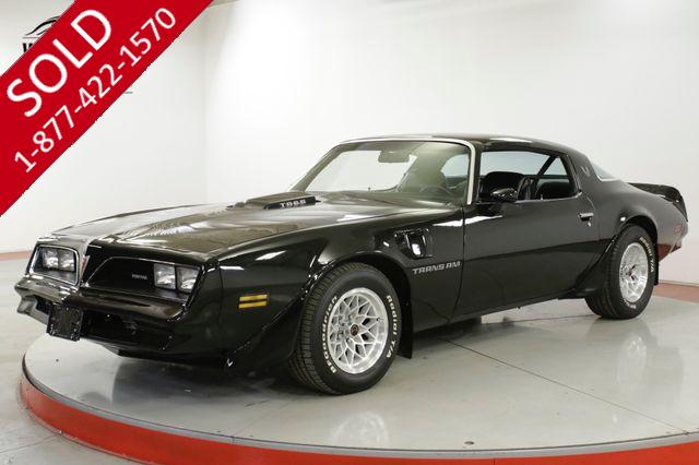 1978 PONTIAC  TRANS AM RESTORED MATCHING NUMBERS 4 SPD AC MUST SEE