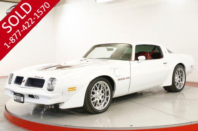 1976 PONTIAC TRANS AM 455 FUEL INJECTED V8 5SPD PRO TOURING AC