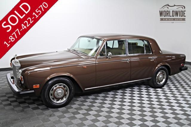 1976 Rolls Royce Silver Shadow for Sale