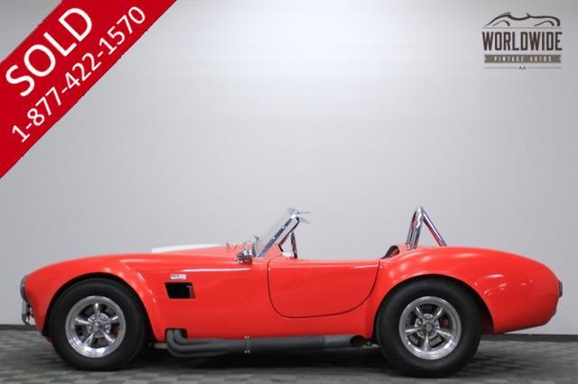 1966 Shelby Cobra 460 V8 4 Wheel Disc Brakes for Sale